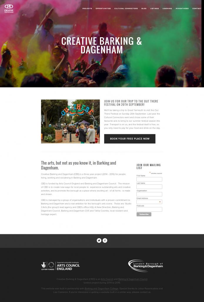 Creative Barking & Dagenham