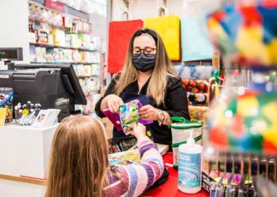 Chalkboard toy shop
