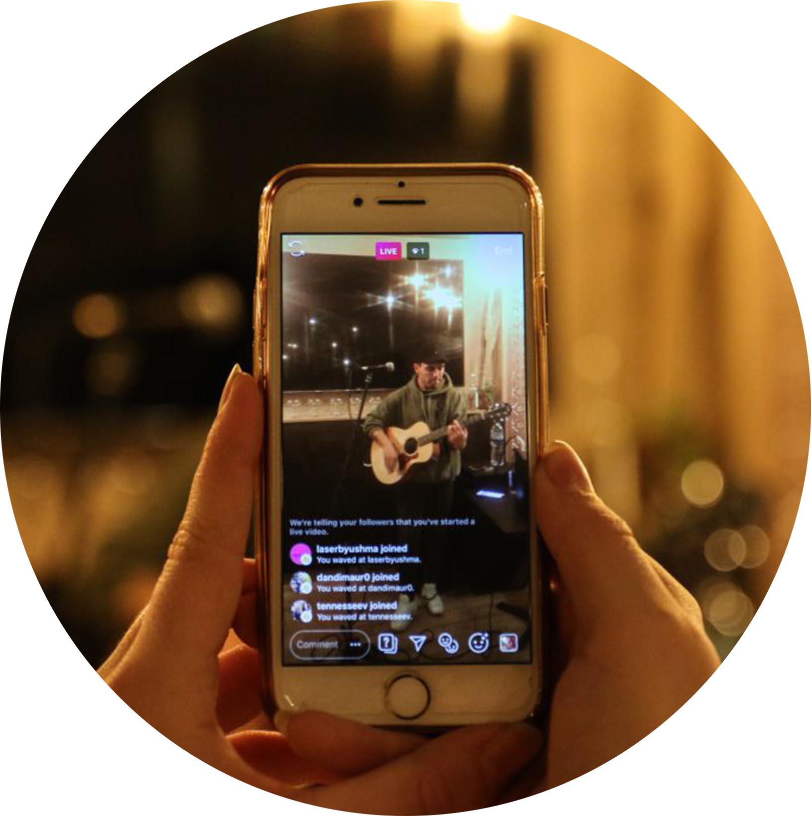 social media video icon