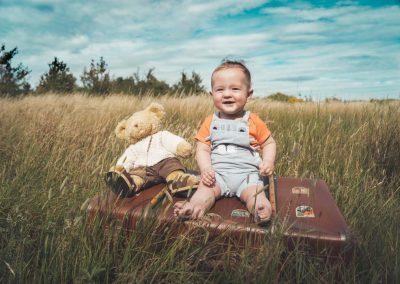 Trojus 7months - Children's photoshoot
