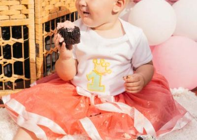 AURINTA'S FIRST BIRTHDAY PHOTOSHOOT