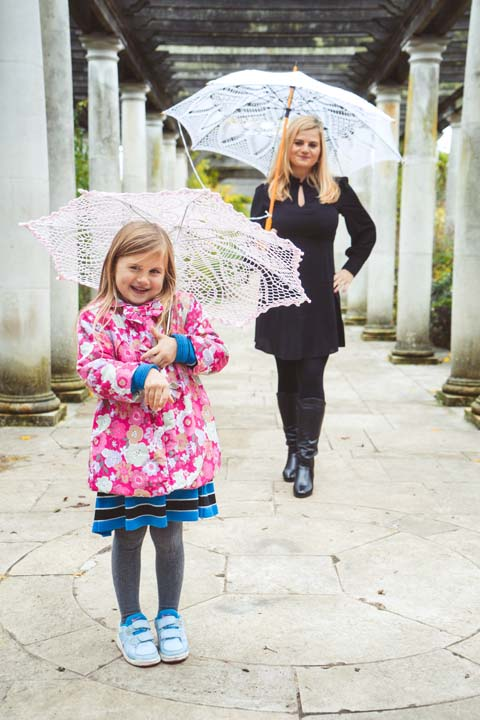 VAIDA FAMILY PHOTOSHOOT LONDON