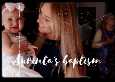 AURINTA'S BAPTISM HIGHLIGHTS VIDEO
